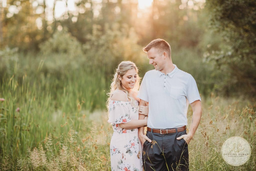 Black Creek Park Rochester NY  Engagement Photographer