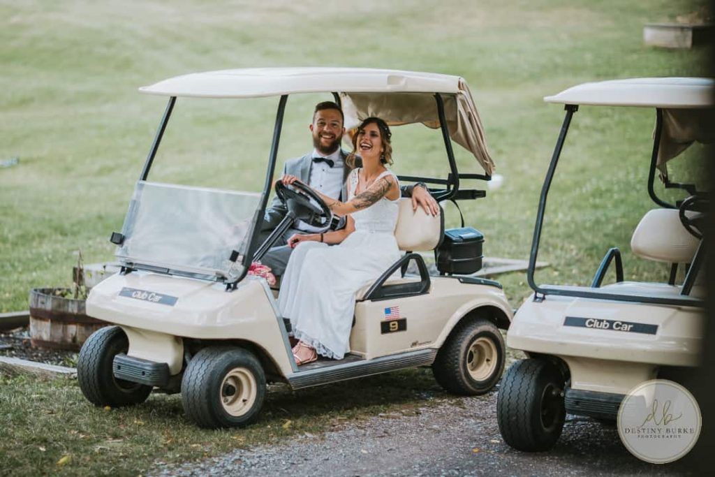 LeRoy Country Golf Club Wedding