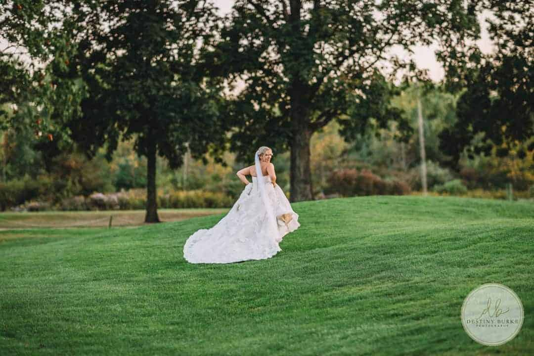 Deerfield Country Club Brockport, NY Wedding