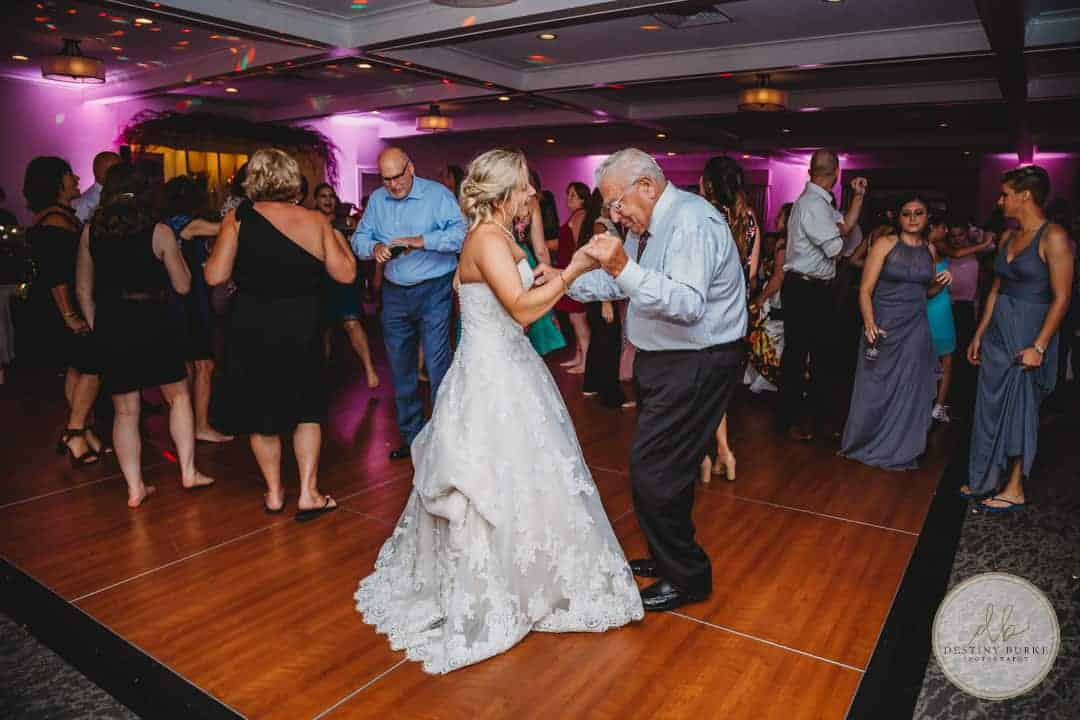 Reception at Deerfield Country Club Brockport, NY Wedding