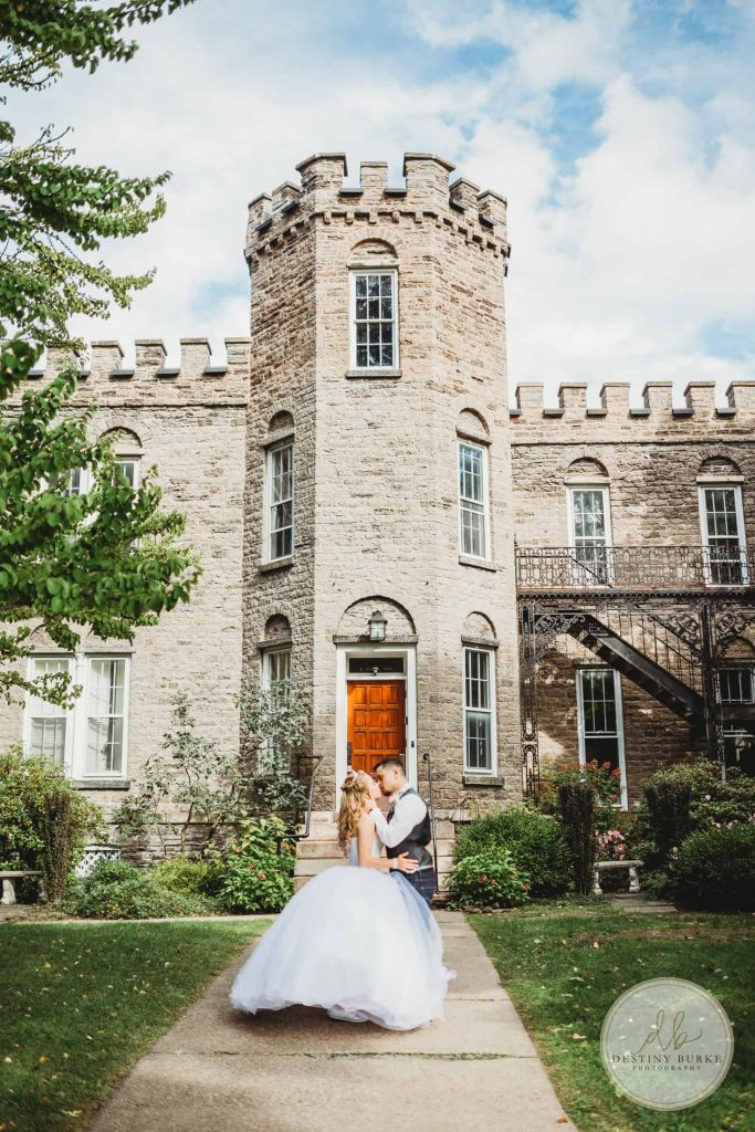Rochester, Wedding, Photography, Warner Castle, Sunken Gardens, Bride, Groom