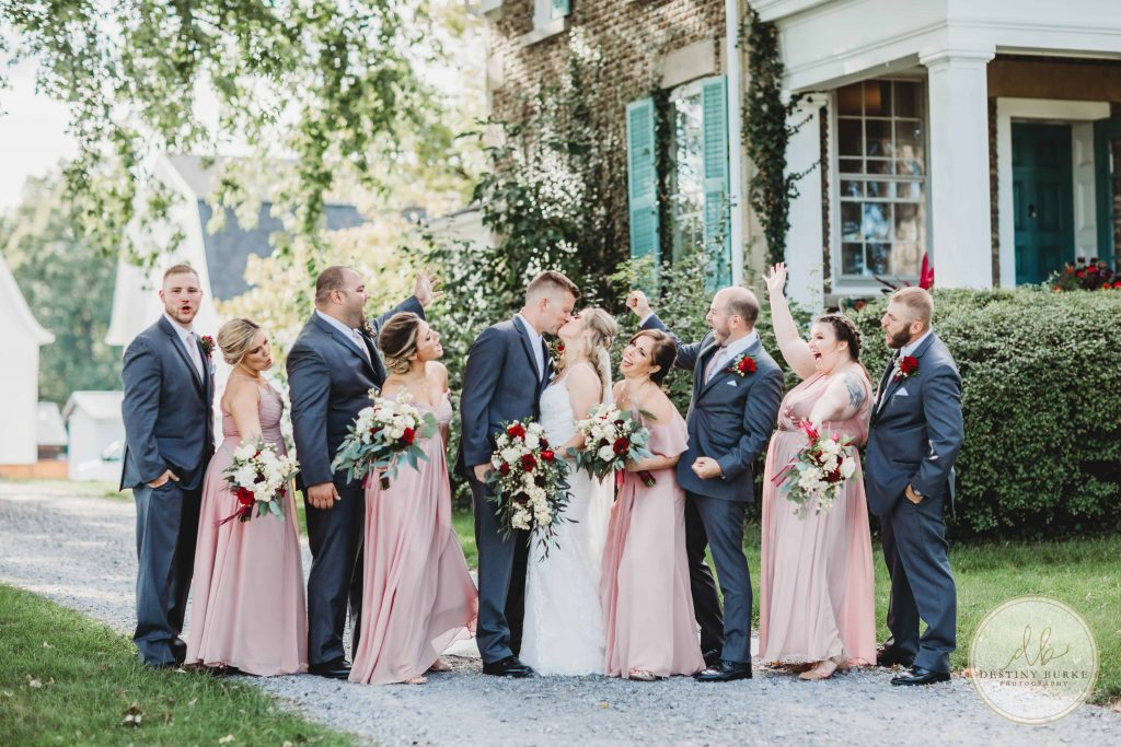 Cobblestone Wedding Barn, Scottsville NY, Wedding Photographer