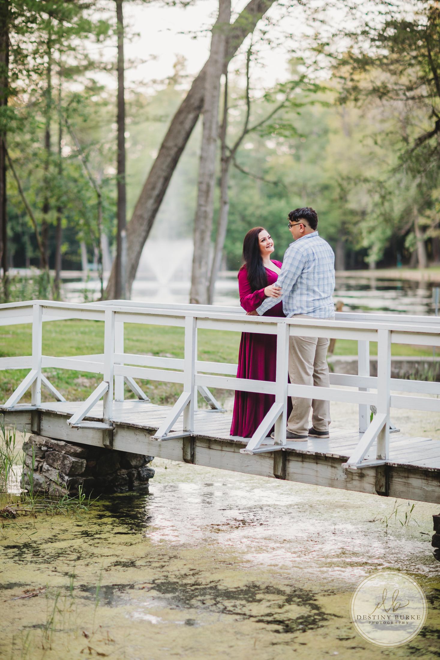 Engagement, Couple, Love, Photography, Bridge, Al Lorenz Park, Mt Morris, NY